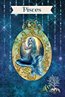 Pisces: Journal Notebook College Ruled Lined Vintage/Fantasy (Zodiac Journals)