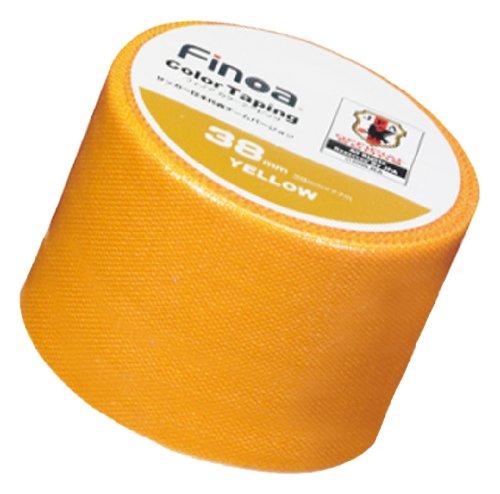 Finoa(フィノア) カラーテーピング サッカー日本代表チームバージョン イエロー (3.8cm×7.7m×1P) 1654