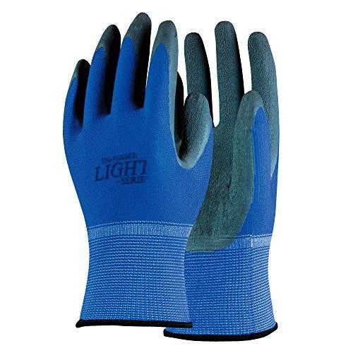 おたふく手袋 オタフク A-371 ブルー LL ライトシリーズゴム背抜き 家庭日用品