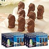 シンガポールお土産 マーライオン アーモンドチョコレート 6箱セット