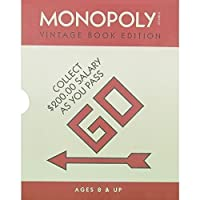 MonopolyヴィンテージBook Edition [並行輸入品]