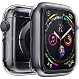 Penom Case for Apple Watch Screen Protector Series 5 Series 4 40mm, Ultra Thin Clear iWatch 40mm Screen Protector with Full Protection TPU Cover