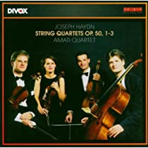 Haydn: Stg Quartets Op 50 1