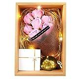 ソープフラワー ギフトボックス 誕生日 母の日 記念日 バレンタインデー ホワイトデー 昇進 転居 など最適としてのプレゼント