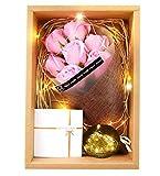 ソープフラワー ギフトボックス 誕生日 母の日 記念日 バレンタインデー ホワイトデー 昇進 転居 など最適としてのプレゼント KIZAWA JAPAN