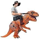 ハロウィーン パーティー 恐竜 着ぐるみ コスチューム 恐竜コスプレ ライダー服恐竜 大人用 男女共用 怪獣 空気充填 膨張式 衣装セットキャラクター扮衣装 イベント USB携帶充電サポートです