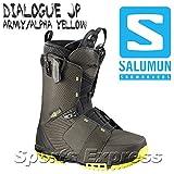 SALOMON(サロモン) スノーボード ブーツ ダイアログ ジェイピー (DIALOGUE JP) L39067600 ブラック/アルファ イエロー 26.5