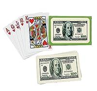 $100 BILL PLAYING CARDS (1 DOZEN) - BULK [並行輸入品]