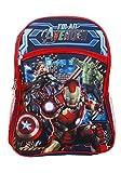 ◎ アベンジャーズ THE AVENGERS リュックサック 『 エイジ・オブ・ウルトロン I'M AN AVENGER 』 バックパック MARVEL マーベル アイアンマン Iron man ハルク Hulk キャプテンアメリカ Captain America マイティー・ソー 遠足用鞄 子供〜大人まで