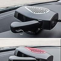 round 12V 150W Car Windscreen Defroster Demister Fan Portable Heater Cooler Dryer