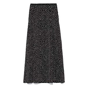 [スタイリング/] ドットロングスカート 16WFS186009 レディース BLK 日本 1 (日本サイズ9 号相当)