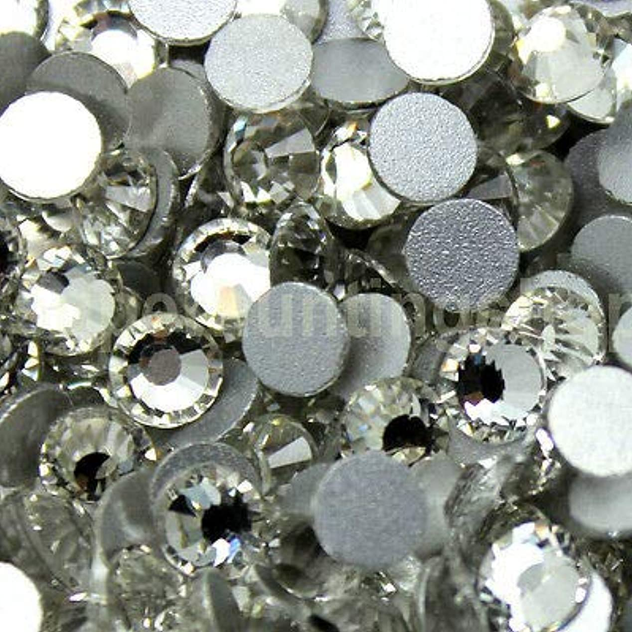 より平らな震えボクシングFidgetGear DIY 1.3-8.5 mmクリスタルヒラタラインストーンネイルアートデコレーションSS3-SS40 結晶