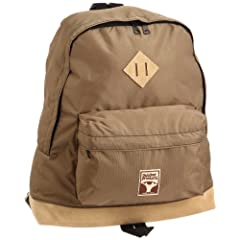 Outdoor Products Brown Tree Leather Bottom Day Pack OD11-001: Beige