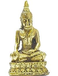 BuddhaジュエリーLord Buddhaダルマ成功WinタイMini Amulet平和ラッキー長い生活ペンダント