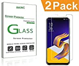 RKINC スクリーンプロテクタAsus Zenfone 5 ZE620KL / Zenfone 5Z ZS620KL用、[2パック] 強化ガラスクリアスクリーンプロテクター[9H硬度] [2.5Dラウンドエッジ] [スクラッチレジスト] にとってAsus Zenfone 5 ZE620KL / Zenfone 5Z ZS620KL