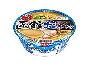 日清食品 麺ニッポン 函館塩ラーメン 101g×12個