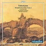 ゲオルグ・フィリップ・テレマン:管楽器のための協奏曲集 第6集