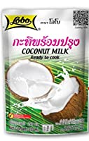 Lobo Coconut Milk Ready to cook ココナッツミルク 240ml. x3 packs