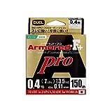 デュエル(DUEL) PEライン アーマード F+ Pro 150m 0.4号 ネオングリーン H4081-NM