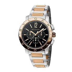 [ブルガリ]BVLGARI 腕時計 ブルガリブルガリ ブラック文字盤 BB41BSPGDCH メンズ 【並行輸入品】