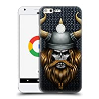 Head Case Designs バイキング スカル・ウォリアーズ ハードバックケース Google Pixel