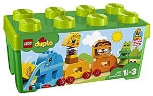 """レゴ(LEGO) デュプロ みどりのコンテナデラックス """"どうぶつでんしゃ"""" 10863"""