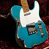 "Fender Custom Shop/ISHIBASHI ""ONE-OFF"" COLLECTION 2018 Custom Built 1953 Telecaster Heavy Relic Taos Turquoise"