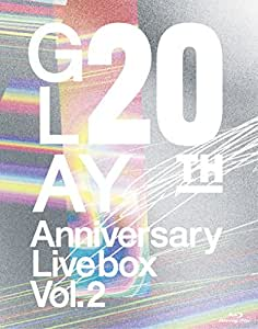 GLAY 20th Anniversary LIVE BOX VOL.2 [Blu-ray]