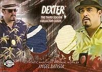 Dexter Season 3Angel BatistaコスチュームTradingカード# d3-c14