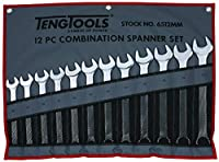Tengtools 6512 mmコンビネーションスパナ12個セット