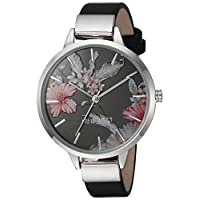Nine West Women's Floral Dial Strap Watch