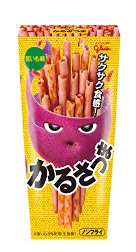 江崎グリコ かるさつま (紫いも味) 36g×10個