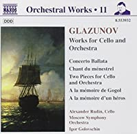 Glazunov: Orchestral Works, Volume 11, Works for Cello and Orchestra (1999-09-28)