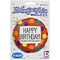 Betallicハッシュタグ誕生日Holoパッケージバルーン、18