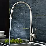 SR SUNRISE キッチン用水栓 キッチンシャワー キッチン用水栓金具 泡沫 取付穴径35~~37mmSRSH-1027