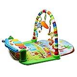 Wishtime 赤ちゃんのおもちゃシリーズ 4WAY ピアノ付きプレイマット 0歳から HE16001