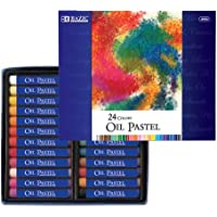 BAZIC 24 Color Oil Pastels by Bazic