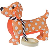 Manhattan Toy Dotty Pup Sensory Rattle and Teether Baby Toy