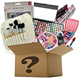 BR Makeup Surprise Mystery Box Gift Set - Exclusive All in One Makeup Set - Include Pro Makeup Brush Set, Eyeshadow Palette,
