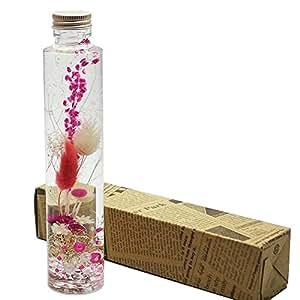 ハーバリウム Happy Pink ( ハッピー ピンク ) 1本箱入 プレゼント などに最適です