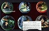 VITA PS4 PS3 進撃の巨人 treasure box特典 缶バッジセット