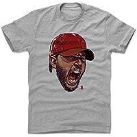 500レベルのアダム・ウェインライトコットンTシャツ–セントルイス野球ファンギアの公式ライセンスMLB Players Association–アダム・ウェインライトScream R