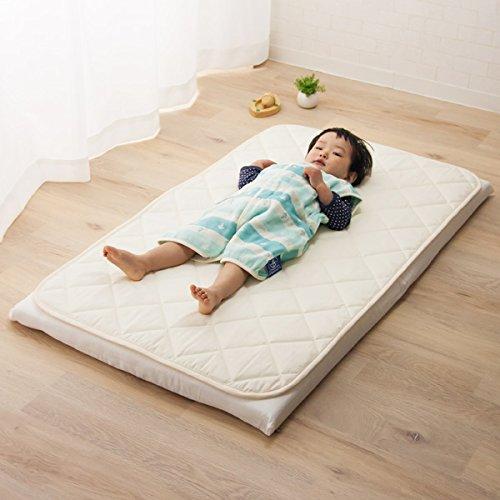エムール アウトラスト(R) ベビー ミニ敷きパッド 60×90cm 温度調節 アイボリー [Baby Product]