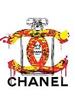 CHANEL #td58 ポップアート オマージュアートポスターSTAR DESIGN (A2, td58f)
