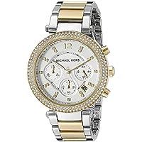 Michael Kors Women's Parker Two-Tone Watch MK5626