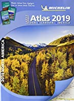 Michelin 2019 North America Large Format Atlas: USA, Canada, Mexico (Michelin North America Atlas (Large Format))