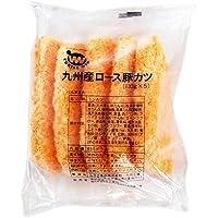 【冷凍】 TW印 業務用 九州産 豚ロース 豚カツ 650g (130g × 5枚) 冷凍 惣菜 とんかつ
