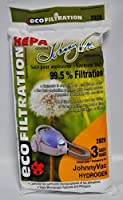 Johnny Vac Hydrogen H2 and Fusion HEPA Vacuum Bags