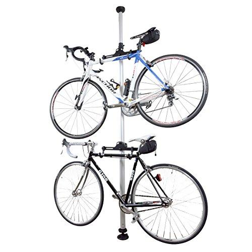 thanko(サンコー) ポール型自転車スタンドシルバー TPSFBI22 TPSFBI22