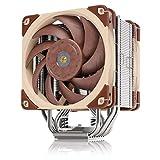 Noctua NH-U12A, Disipador de CPU de Gran Calidad con Ventiladores NF-A12x25 PWM de Alto Rendimiento (120 mm, Marrón)
